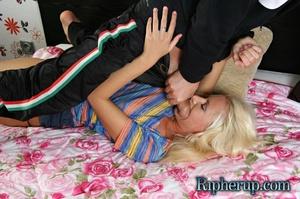 Nasty blondie Anna getting all her cloth - XXX Dessert - Picture 3