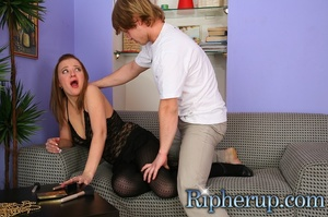 Suddenly dude turns on and tears his GF' - XXX Dessert - Picture 2