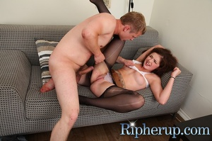 Horny dude rudely rips off his GF's clot - XXX Dessert - Picture 5