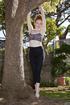 pretty teen gymnast girl