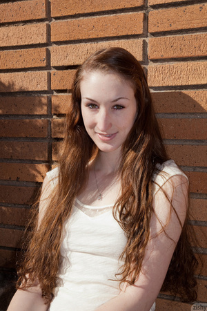 This long-haired teen girl adores exerci - XXX Dessert - Picture 1