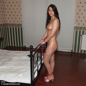 Very hot brunette Kyla Cole in high heel - XXX Dessert - Picture 3