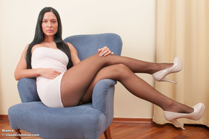 Luxurious brunette babe Athina posing in - XXX Dessert - Picture 2