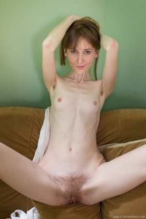 Very slim sexy chick strips off to show  - XXX Dessert - Picture 15
