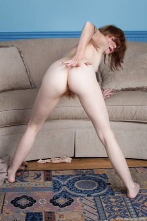 Hot lady with red hair on her head, puss - XXX Dessert - Picture 15