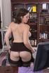 sexy secretary takes time