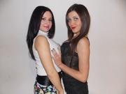 brunette malena and brunette