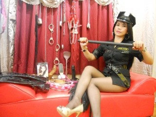 brunette yourasianmistres perform close