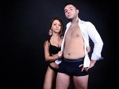 1boy_1girl, couple live sex, white, zoom