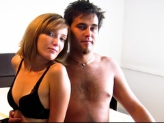 1boy_1girl, couple live sex, white, zoom