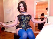 brunette letizia willing perform
