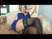 blonde natali4u willing perform