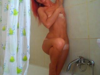 redhead feli perform anal