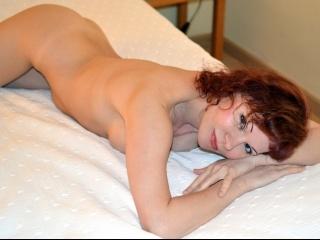 redhead alisa perform close