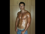brunette yourmusclehunk willing perform