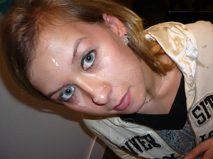 Blue eyed Mary wants his semen on her fa - XXX Dessert - Picture 14