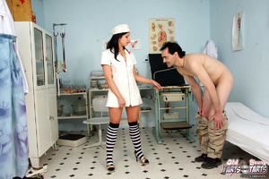 Smoking hot naked nurse screwing a horny - XXX Dessert - Picture 1