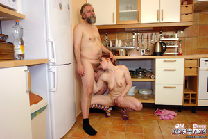An old bearded dude shagging much younge - XXX Dessert - Picture 2