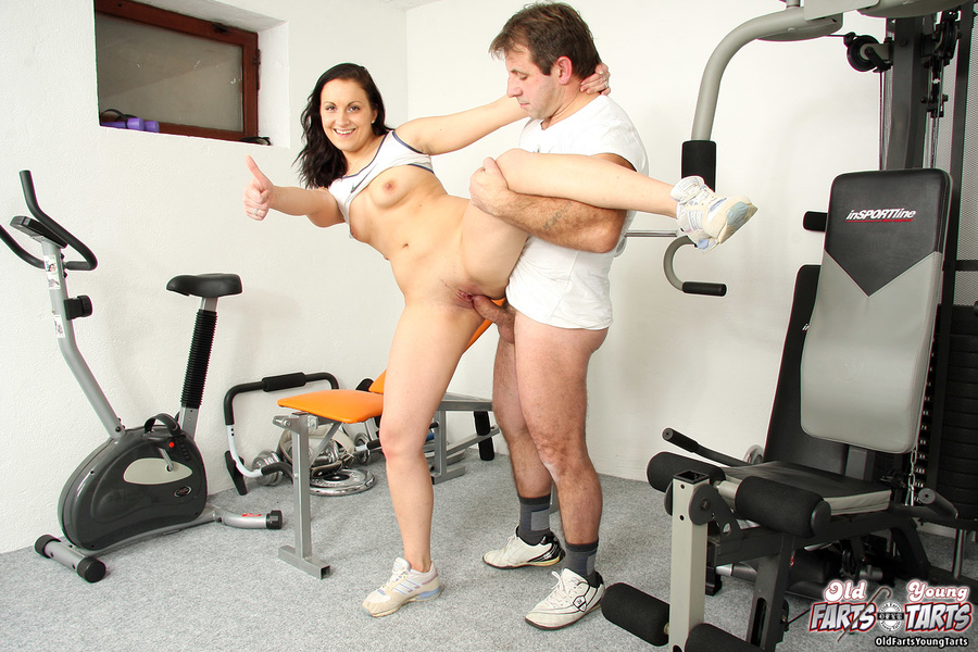 Cutie fucking the fitness trainer at the lo - XXX Dessert - Picture 3