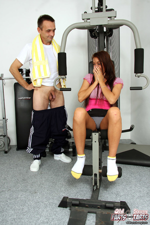 Hot chick banging her fitness instructor - XXX Dessert - Picture 1