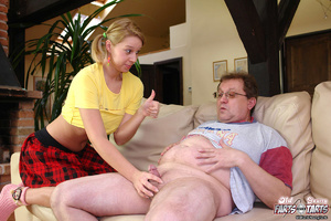 Horny and much older senior banging a te - XXX Dessert - Picture 6