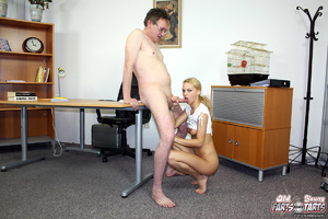 An old horny guy shagging a much younger - XXX Dessert - Picture 7