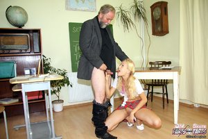 A horny schoolgirl nailed hardcore by he - XXX Dessert - Picture 2