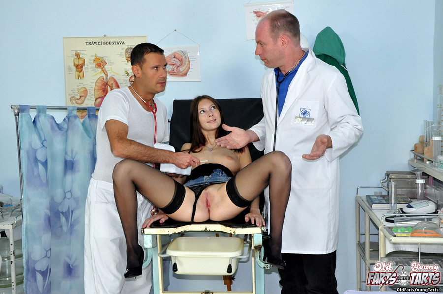 horny doctor his naked patient