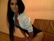 brunette elena willing perform
