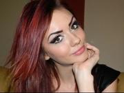 redhead allysondenise willing perform