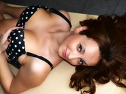 brunette emmacharlotte willing perform