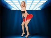 blonde olesya willing perform