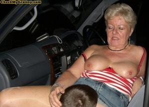 Hardcore blonde granny in her cock satis - XXX Dessert - Picture 3