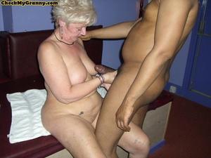Hardcore blonde granny in her cock satis - XXX Dessert - Picture 9