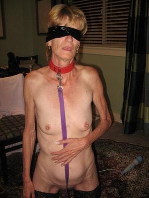 A horny granny in bondage still can cock - XXX Dessert - Picture 1
