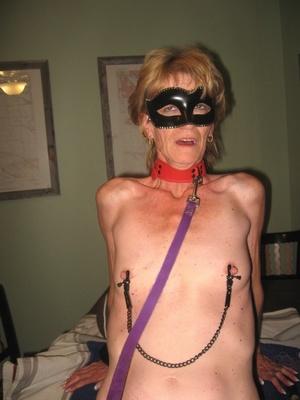 A horny granny in bondage still can cock - XXX Dessert - Picture 15