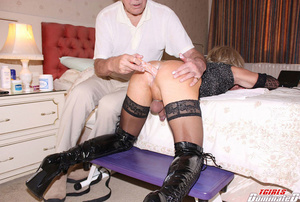 A dislay of hardcore MILF with daring be - XXX Dessert - Picture 6