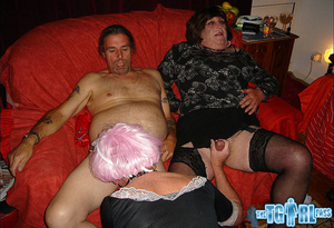 Gorgeous bitch gets two men to become cr - XXX Dessert - Picture 5