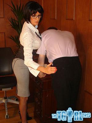 Bitchy mean MILF slut gets her man to dr - XXX Dessert - Picture 2