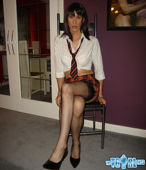 Slutty and gorgeously tempting tgirl bit - XXX Dessert - Picture 1