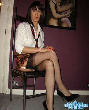 Slutty and gorgeously tempting tgirl bit - XXX Dessert - Picture 3