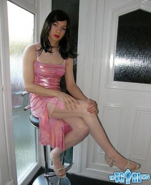 Pretty in glossy pink dress as an alluri - XXX Dessert - Picture 8