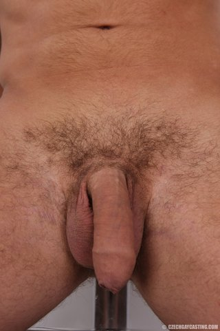 athletic gay with huge