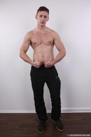 hot muscles hunk reveals