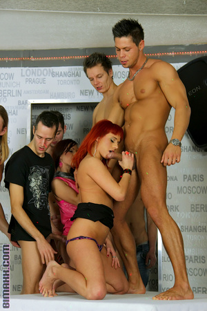 This orgy is the dream of every bi boy l - XXX Dessert - Picture 6