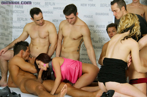 This orgy is the dream of every bi boy l - XXX Dessert - Picture 8