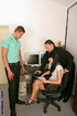 Office work turns into hard bisexual action
