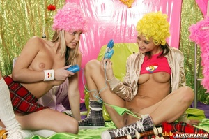 PLayful lesbians end up toying and cummi - XXX Dessert - Picture 5