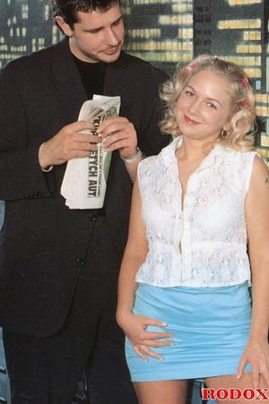 Blondie adores thick cocks up her tight  - XXX Dessert - Picture 1