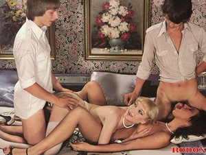 Hot beauties go for two young boys'cocks - XXX Dessert - Picture 13